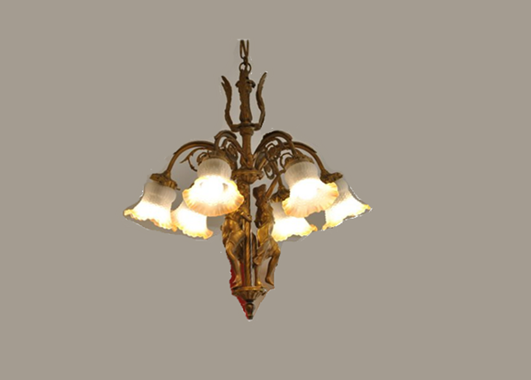 hand-made-bronze-chandelier-statue