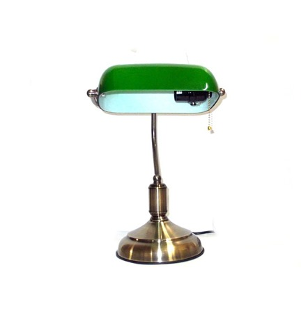 Office-lamp-green-color-opal-Glass